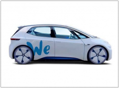 """大众宣布明年将推出全新电动汽车共享平台""""WE"""""""