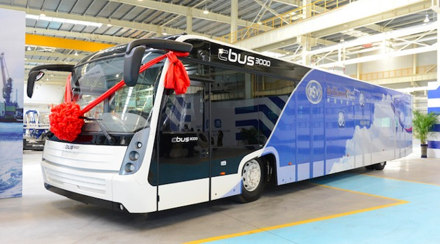 新能源客车大幅增长 纯电动重卡开始受追捧