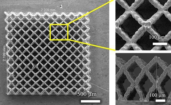 3D打印技术造出微观多孔新濠天地 容量提升了4倍