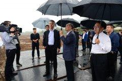 山西省委常委、常务副省长林武莅临山西蓝科途调研指导工作