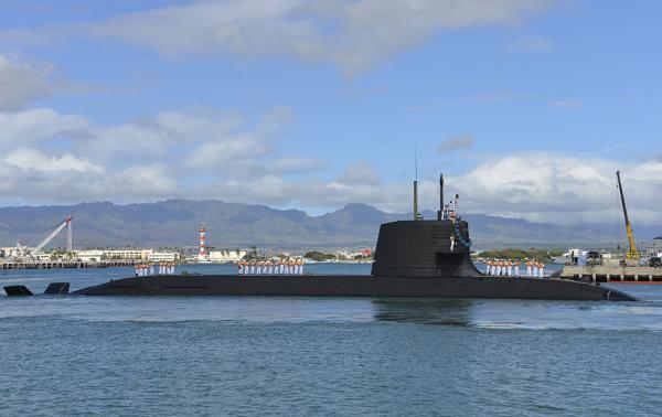 世界首艘锂离子电池潜艇下水 日本潜艇扩军计划即将完成