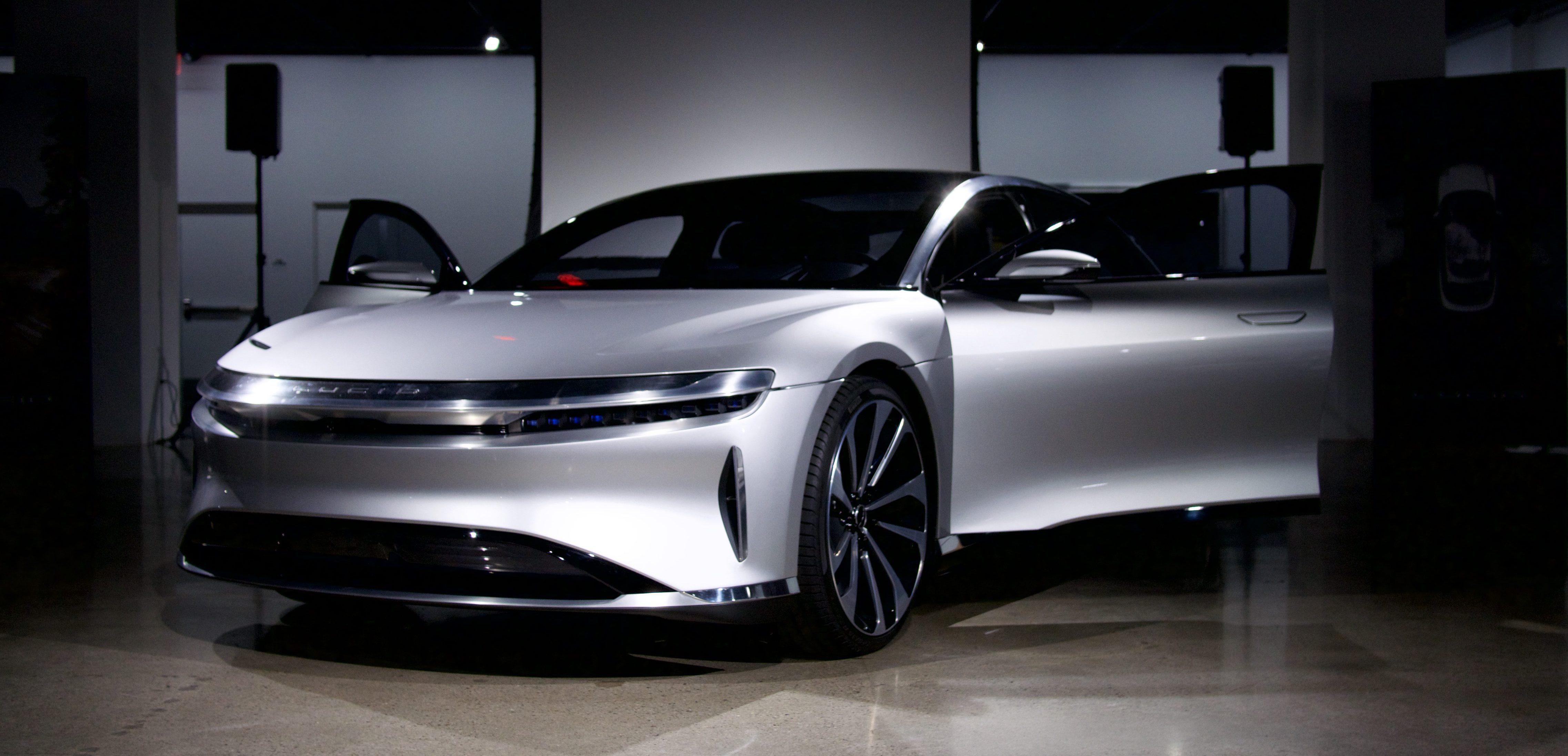 特斯拉劲敌东山再起  Lucid Motors缠斗新能源车市场