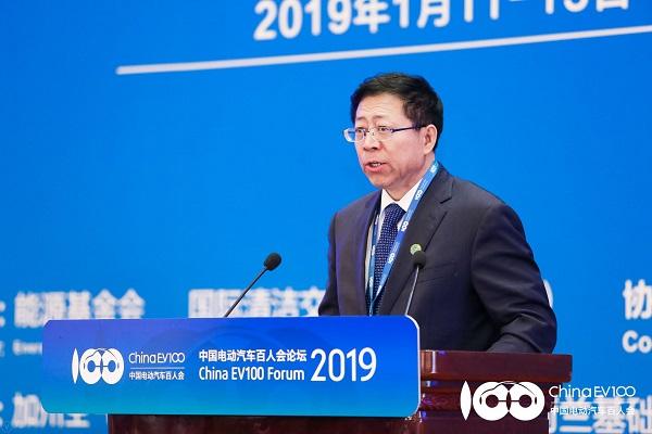 青海副省长王黎明:推动锂电池产业革命 为新能源车发展提供强力保障