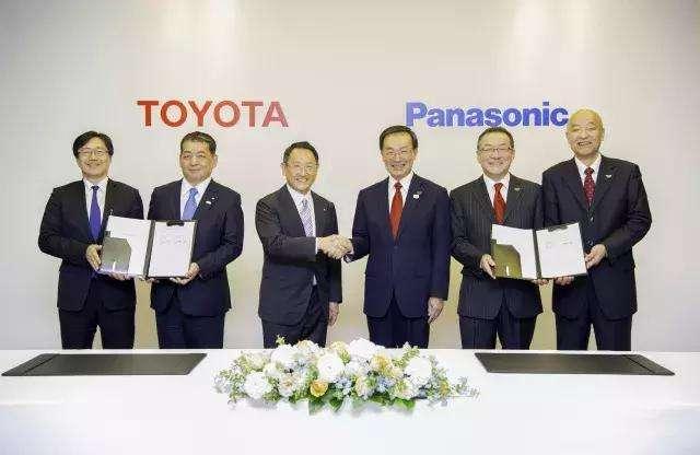 丰田与松下就成立车用方形电池合资公司达成合作意向