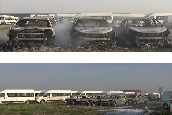 杭州一停车场8辆电动汽车起火!专家呼吁重视全行业安全
