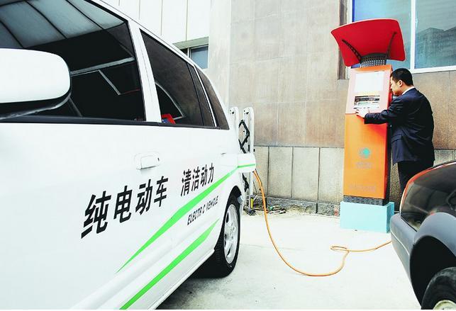 国内已建成充电桩超百万个 头部充电运营商受益