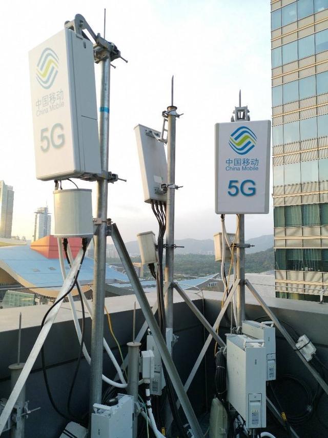 中国移动上半年业绩下滑 年内将建超过5万个5G基站
