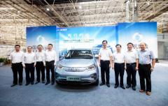 国机智骏旗下首款车型GX5下线 拟在2023年前推出16款电动汽车