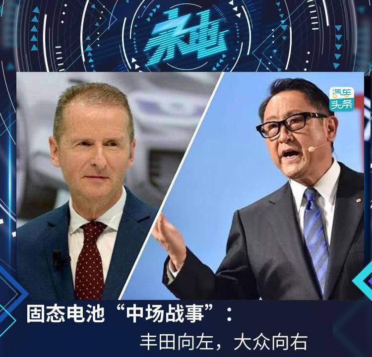 """固态电池""""中场战事"""":丰田向左,大众向右?"""