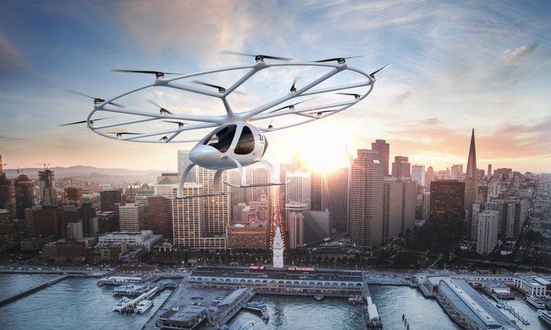 吉利汽车投资的空中出租车或将在新加坡试行?
