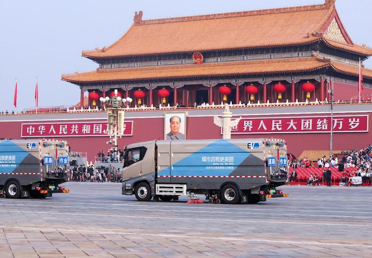 服务阅兵、亮相北展  比亚迪绿色科技献礼新中国70华诞