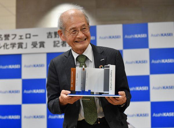 诺贝尔化学奖获得者之一吉野彰:锂电池市场中国和韩国正在崛起