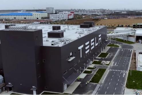 特斯拉加快上海工厂基础设施建设 电池生产地表建筑基本完工