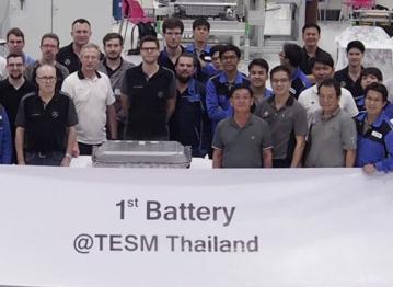 梅赛德斯奔驰开始在曼谷本地生产动力电池