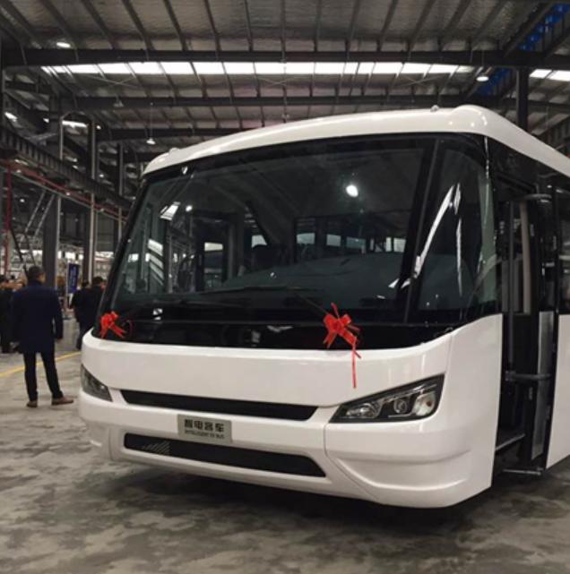 总投资12亿元!恒天智电客车项目首辆新能源客车成功下线
