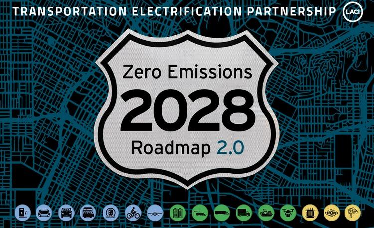 """洛杉矶""""2028年零排放指南"""""""