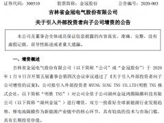 韩国锂电隔膜设备生产商明胜TNS拟增资湖州金冠 成第二大股东