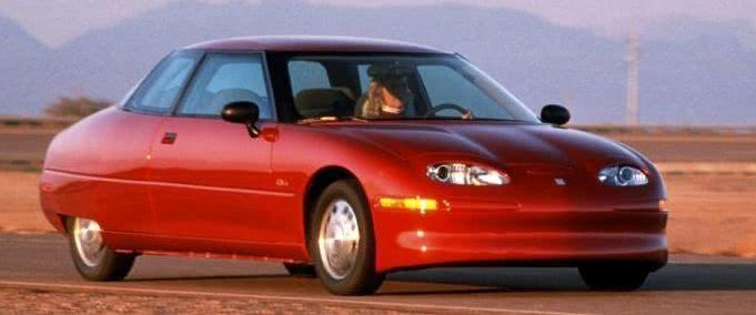 """号称被美国政客和油企""""杀死""""的通用电动汽车EV1"""