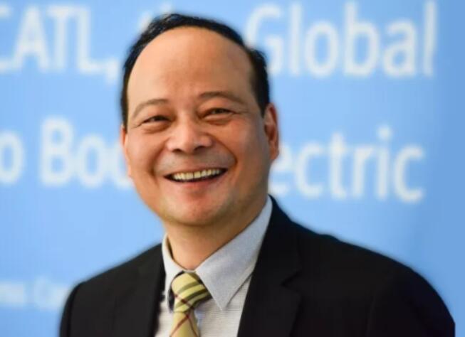 宁德时代董事长曾毓群获美国国家先进技术电池联盟终身成就奖
