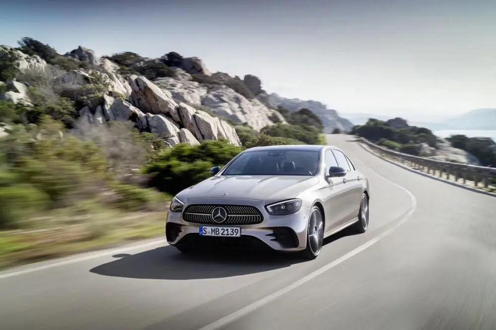 新款奔驰E发布 全新外观设计 将 于2020年夏季上市