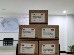 海外疫情形势严峻 中科电气向意大利客户捐赠一万只口罩