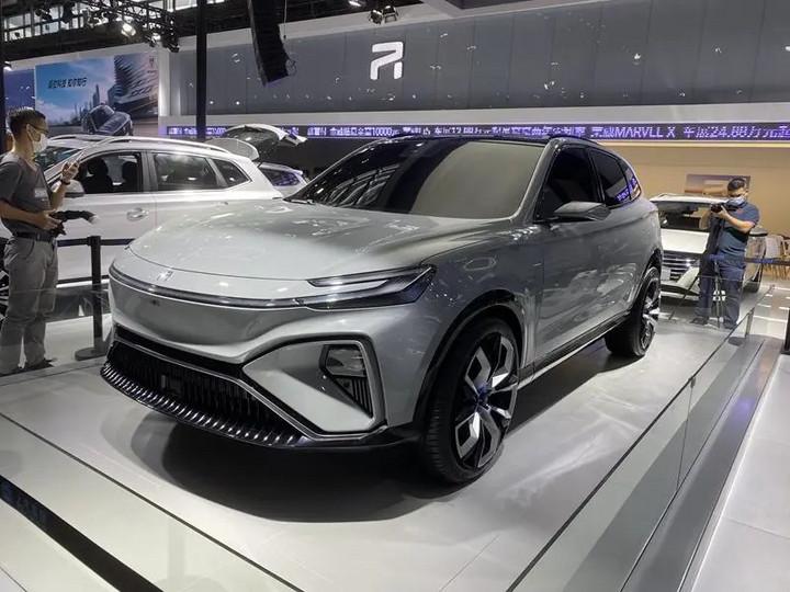 荣威MARVEL-R亮相!5G技术+L3自动驾驶  8月首发上市