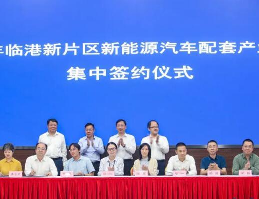 投资总额超40亿元 13个新能源项目签约临港新片区
