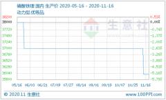 动力型磷酸铁锂市场稳定运行 均价约3.5万/吨