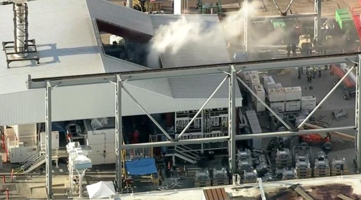 特斯拉弗里蒙特工厂突发火灾 为其目前产能最高的工厂