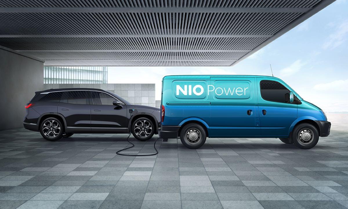"""中国石化""""十四五""""将布局5000座充换电站 携手蔚来汽车助力碳中和"""