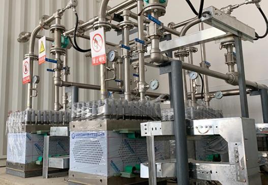 大连化物所研制的兆瓦级质子交换膜水电解制氢系统成功运行