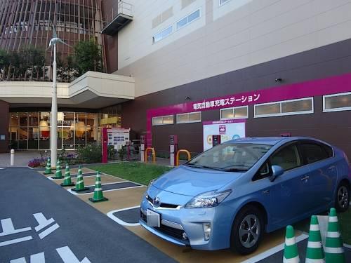 永旺将建日本最大充电网 明年建1150个充电桩