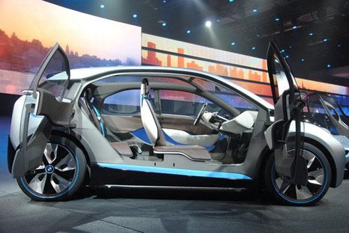 宝马i3欲将电动车轻量化做到极致 电池占20%