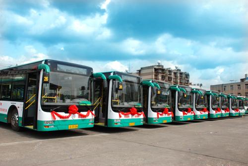 定为国家新能源汽车推广示范城市高清图片