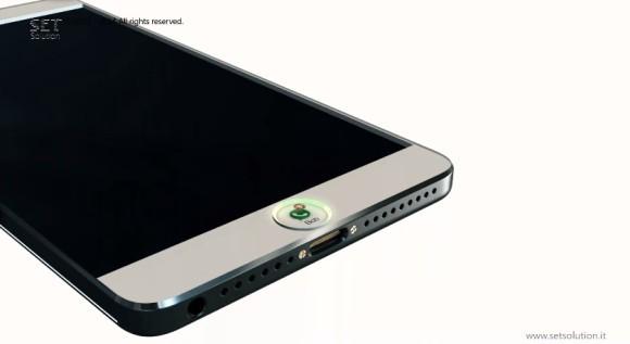 苹果iPhone6概念设计曝光 搭载微型全息投影功能