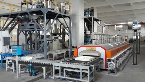 镍钴铝三元材料专用氧气辊道炉成功投放市场