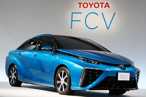 丰田FCV燃料电池车在美上市受阻 设计不符安全规定