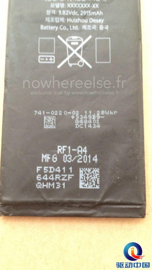 这事儿是德赛电池干的!苹果iPhone 6手机电池露陷?