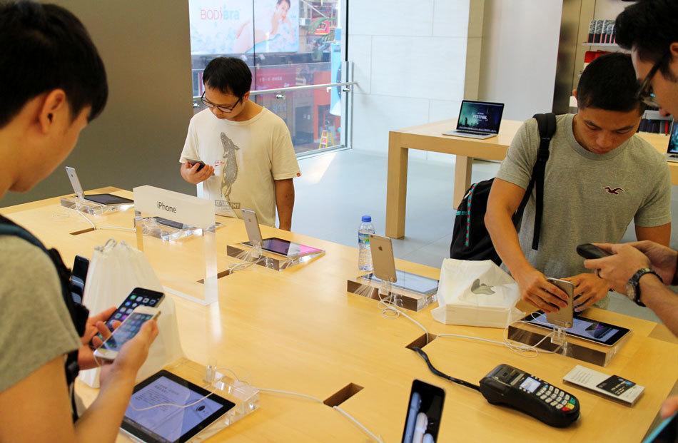 苹果iPhone 6香港发布当日:黄牛猖獗加价收货