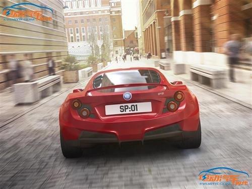 底特律SP:01电动超跑明年量产 百公里加速不到4秒