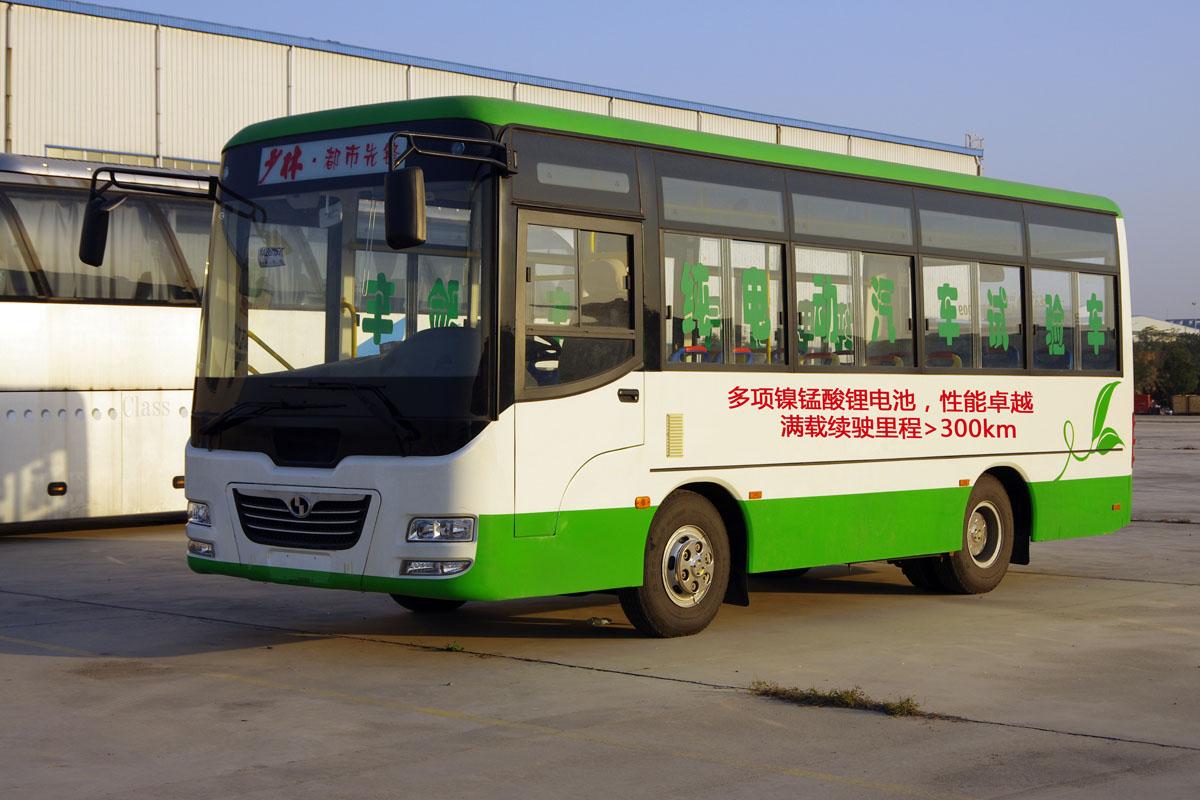 """河南少林7米纯电动公交续驶300公里 """"长跑王""""诞生"""