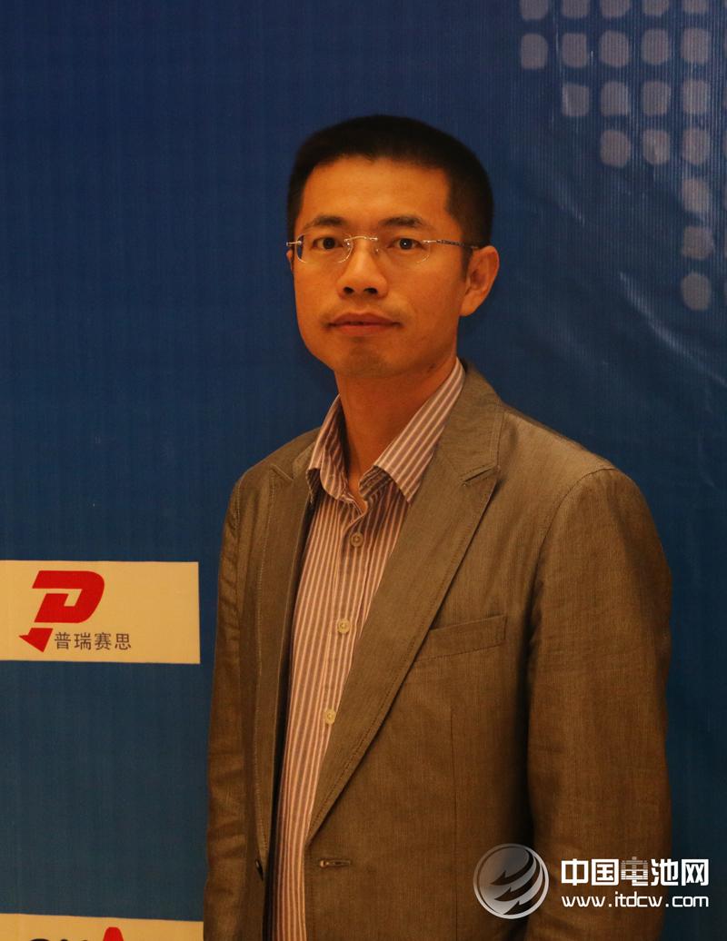 电池百人会副理事长、深圳普瑞赛思检测技术有限公司总经理许辉勇