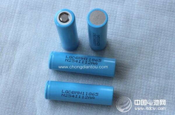 电池续航大升级 LG推出3200mAh圆柱动力电芯