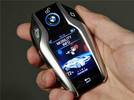 宝马发布智能车钥匙 查看车辆状况通过钥匙就可搞定