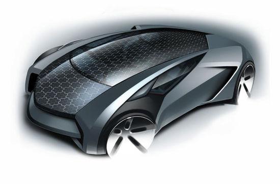 告诉你关于汉能造车的更多细节 一辆太阳能跑车诞生