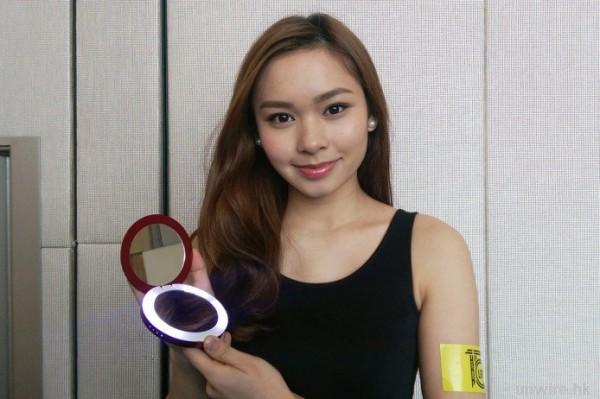[图]女生最爱 - 打造成化妆镜的移动电源