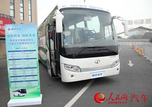 首款太阳能电动大巴将于5月底在南京溧水下线