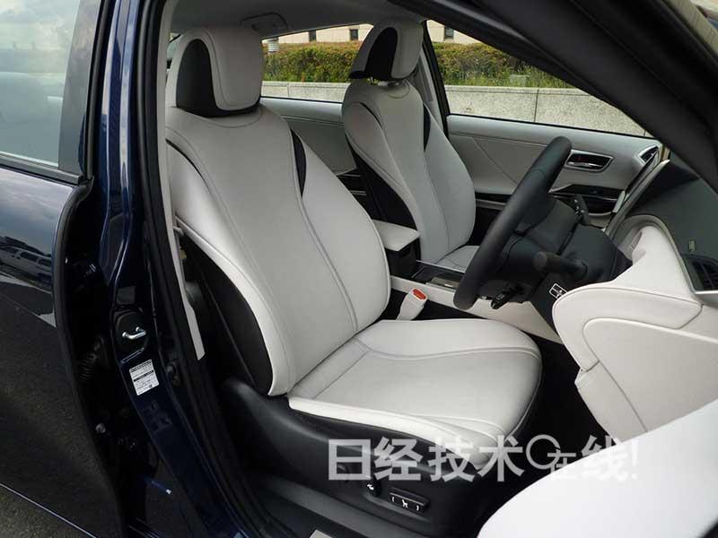 """丰田燃料电池车""""MIRAI"""":加速顺畅 乘坐舒适性有待改进"""