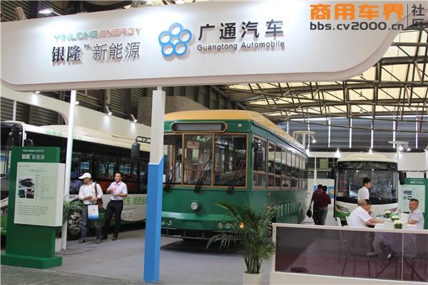 银隆新能源携最强阵容亮相2015客车技术展