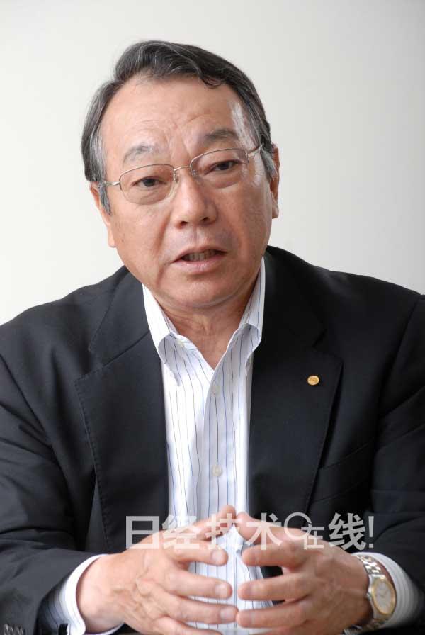 丰田技监、日本科学技术联盟理事长佐佐木真一。